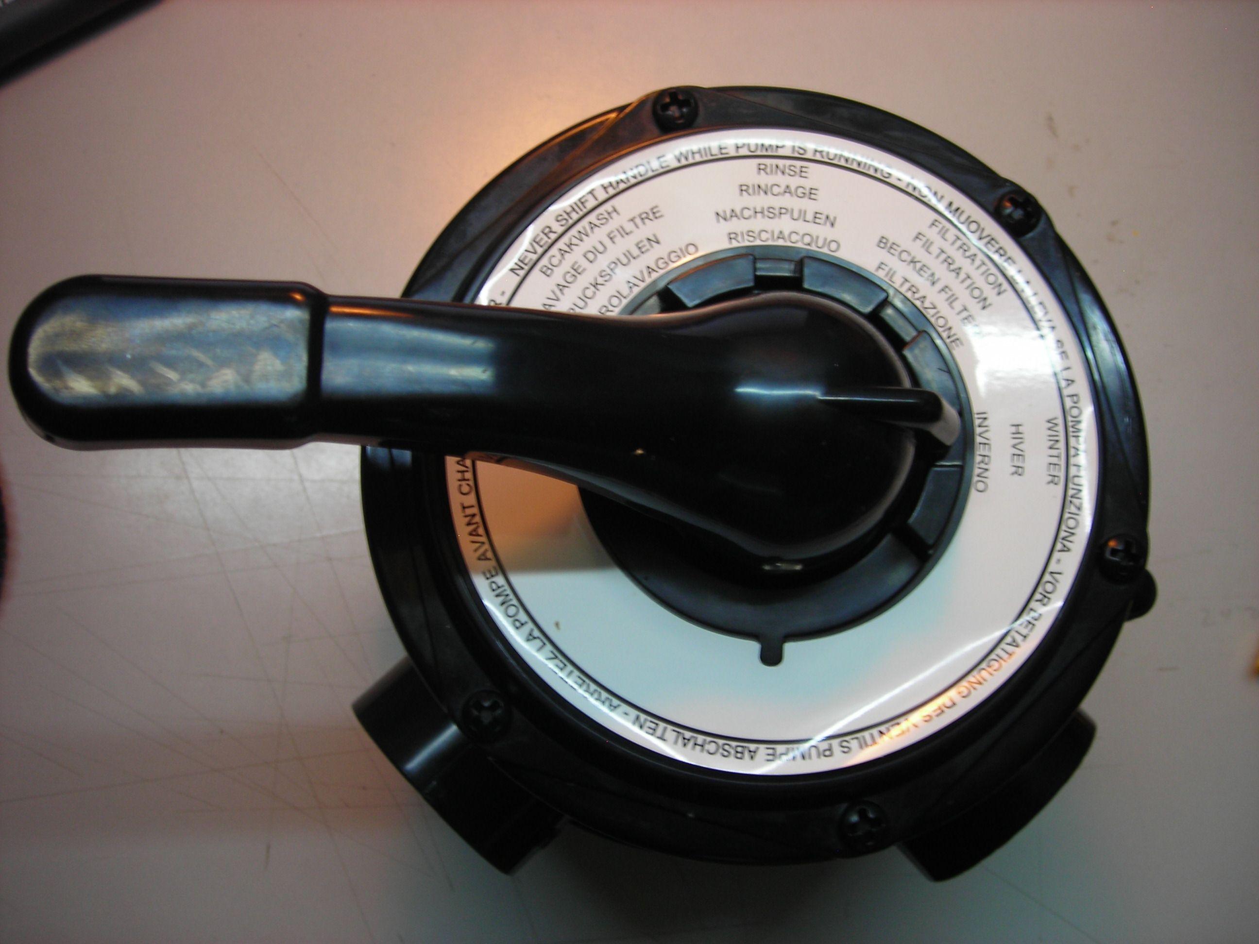 Equipo de filtraci n posici n de recirculaci n for Depuradoras de agua salada para piscinas