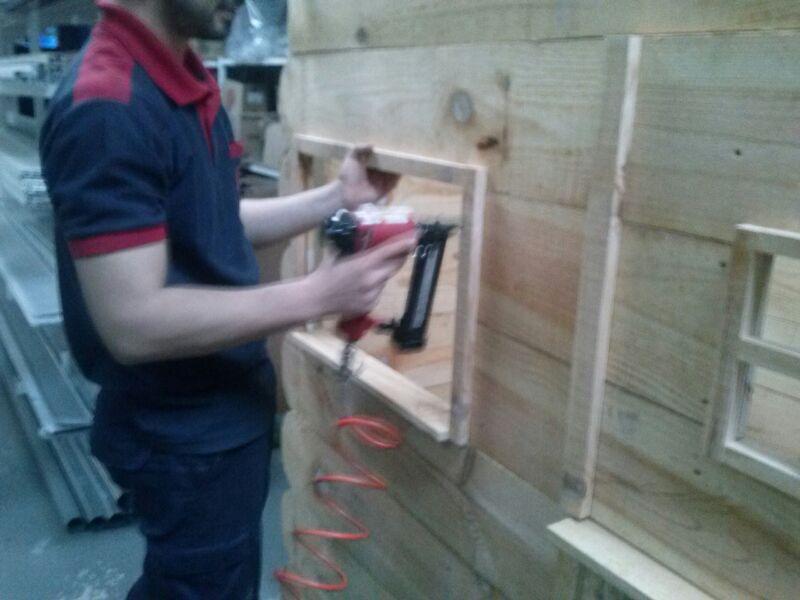 Caseta de madera paso a paso 2 parte ferreter a ferrogal - Hacer caseta de madera ...