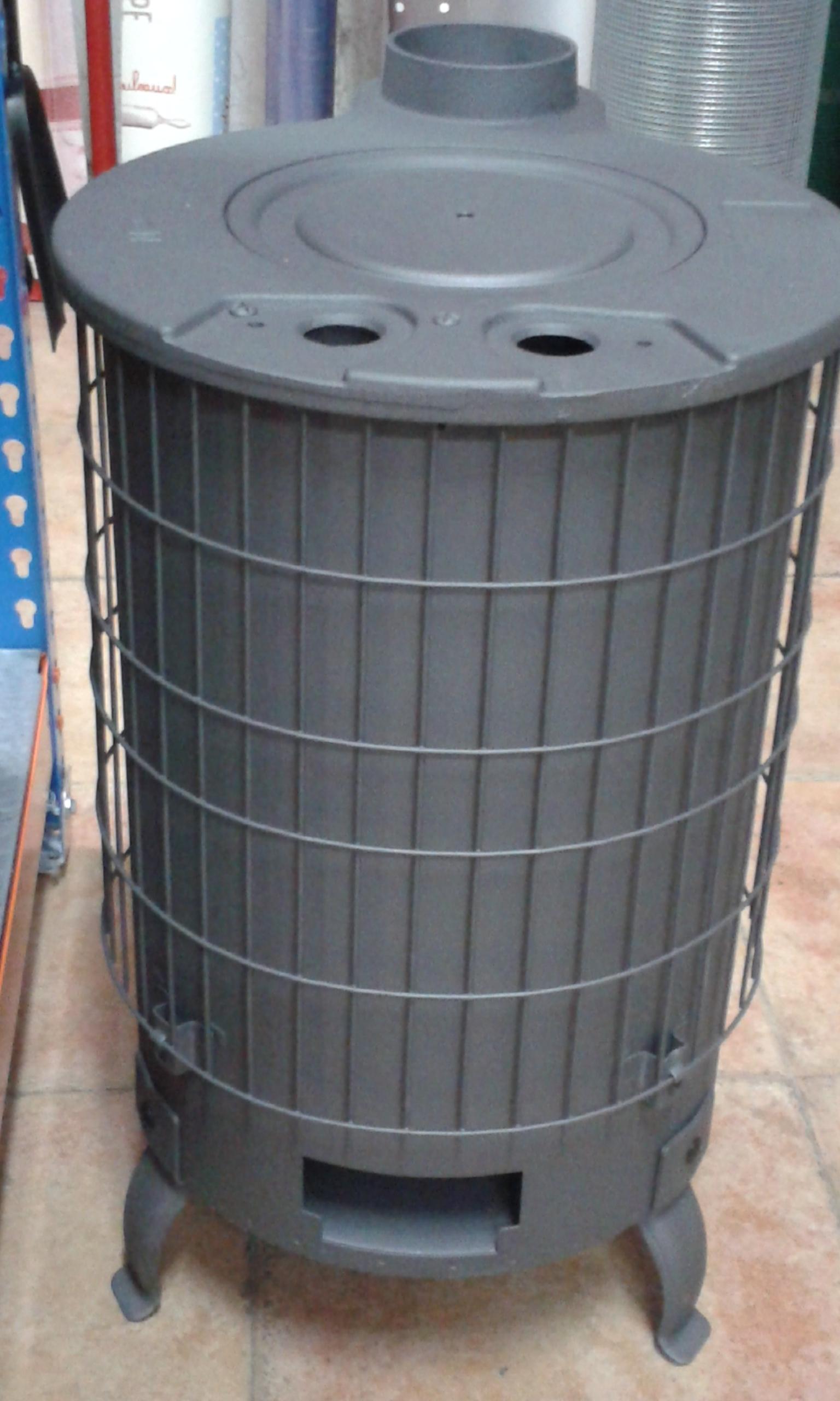 Como instalar los tubos de una estufa de le a ferreter a - Como adaptar una estufa de lena a pellets ...