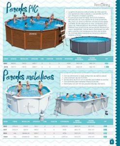 Cat logo piscina 2016 de ferrokey ferreter a ferrogal for Piscinas carrefour catalogo 2016