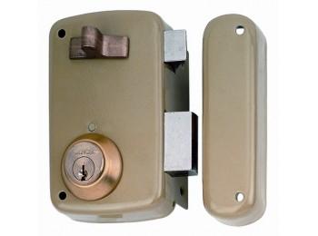 Cerradura sobr. 70x45mm 5056ahe70i h.esm pic/pal izq lince