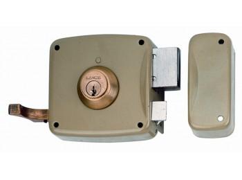 Cerradura sobr. 120x60mm 5125ahe12i h.esm pic/pal izq lince
