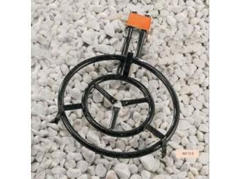 Paellero gas butano 2 fuegos 50cm rdo h. m500 la ideal