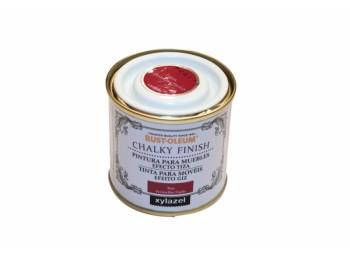 Pintura al agua para muebles 125 ml teja chalky rust-oleum
