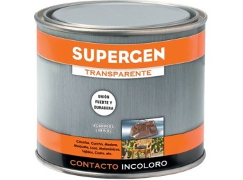 Pegamento contacto 500 ml inc. supergen