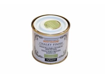 Pintura al agua para muebles 125 ml ver/sa chalky rust-oleum