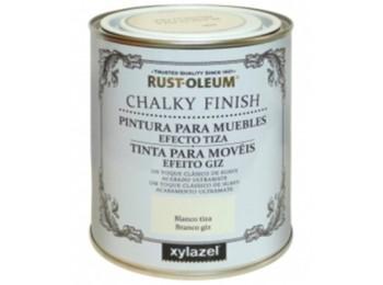 Pintura al agua para muebles 125 ml piedra chalky rust-oleum