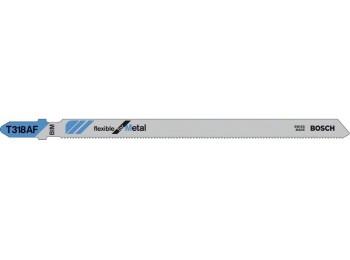 Hoja sierra calar metal/alum 1/3mm c/fino t318af bosch 5 pz
