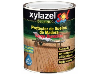 Protector prep. mad 750 ml teca ext. sat. suelo xylazel