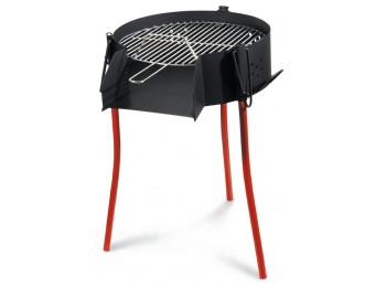 Barbacoa carb 50 cm rda paellero rustica la ideal