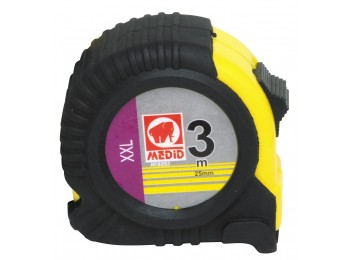 Flexometro medic c/f 06mt-25,0mm funda goma medid