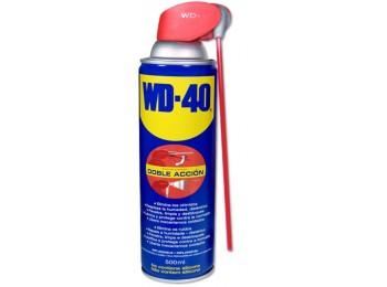 Aceite lubricante multi doble accion spray wd-40 500 ml