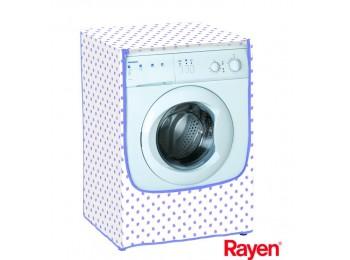 Funda lavadora 84x60x60cm c/fr. multiusos rayen