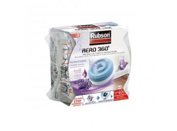 Absorbe humedad mal olor 450 gr aero 360 lavanda rec rubson