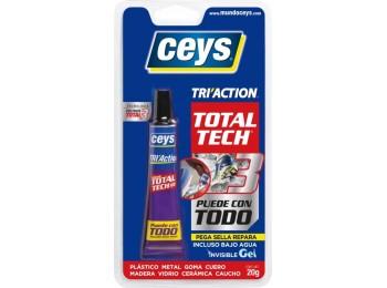 Adhesivo sellador tri-action 20 gr total tech xpress ceys