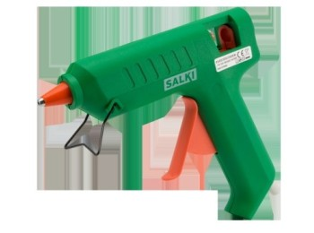 Pistola encolar termofusible 80w-12mm con gatillo 760 salki