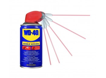 Aceite lubricante multi doble accion spray wd-40 250 ml