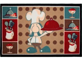 Alfombra multiu 50x80 cocina chef dintex mascasa 55360