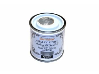 Pintura al agua para muebles 125 ml antr. chalky rust-oleum