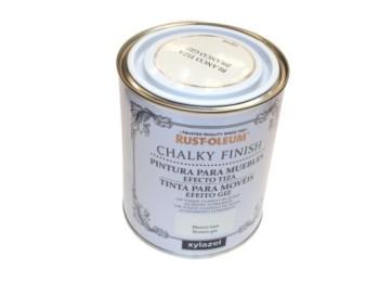 Pintura al agua para muebles 750 ml bl chalky rust-oleum