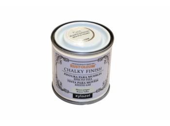 Pintura al agua para muebles 125 ml bl/ant chalky rust-oleum