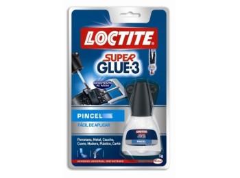 Pegamento instantaneo pincel 5 gr super glue3 loctite