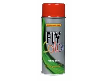 Pintura acril bri. 400 ml ral 8016 marron caoba fly color