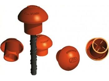 Seta protectora v.12-30mm h 25mm-ancho 60mm pl nar jar 100 p