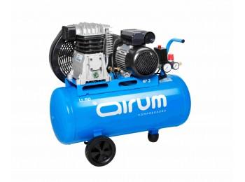 Compresor correas 3 cv 50lt-330lt/m 9 bar c/aceite airum