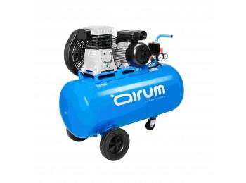 Compresor correas 3 cv 100lt-3330lt/m 9 bar c/aceite airum