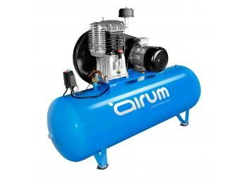 Compresor correas 7,5 cv 500lt-840lt/m 11 bar c/aceite airum