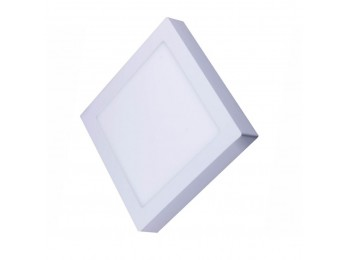 Foco led downlight 20w 6000k-bl sup. cdo silver elect.
