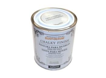 Pintura al agua para muebles 750 ml gr/inv chalky rust-oleum