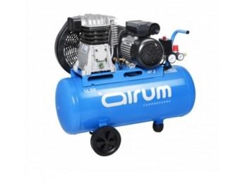 Compresor correas 2 cv 50lt-2225lt/m 9 bar c/aceite airum
