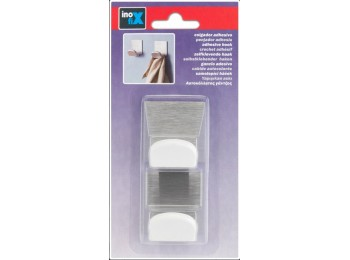 Colgador hog 45x40x30mm adh mini in/pl bl inofix 2 pz