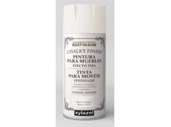 Pintura acril para muebles 400 ml bl/ant chalky rust-oleum