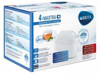 Cartucho jarra agua maxtra+ brita 4 pz