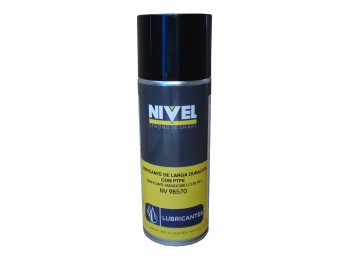 Aceite lubricante larga durac. ptfe spray nivel 400 ml