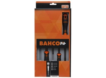 Destornillador pl/recta/ph/extracorto bahcofit bahco 8 pz