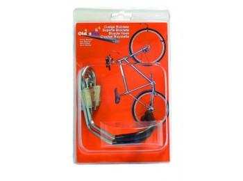 Soporte bicicleta oldisfer inox 2333 2 pz