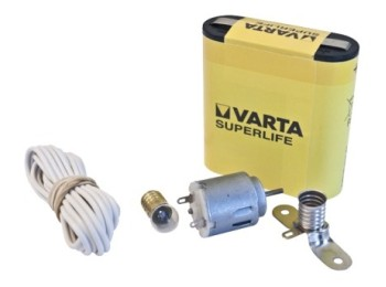Motor manualid. c/lamp hepoluz casq. int. kit escolar 20501
