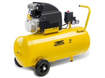 Compresor coaxial 2 cv 50lt 8 bar c/aceite montecarlo b20 ab