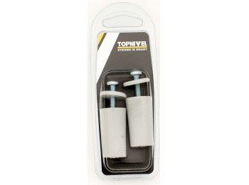 Tope pers 40mm tornillo metalico pl gr nivel 2 pz