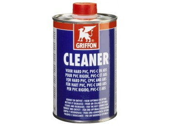 Limpiador tuberias pvc/cpvc/abs 500ml cleaner griffon