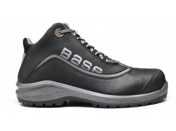 Bota t45 s3 pu/pl no met be-free top piel engr. neg/gr base