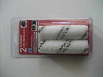 Rodillo pint r/mini 2 pz 11 cm esmalt/barn agua universal