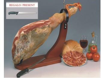 Jamonero horizontal mad nogal zenker