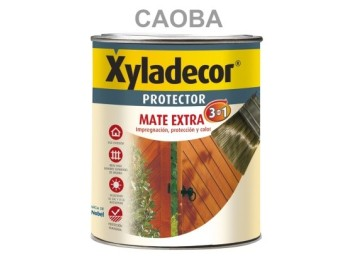 Protector prep. mad 750 ml cao int/ext mate 3en1 xyladecor