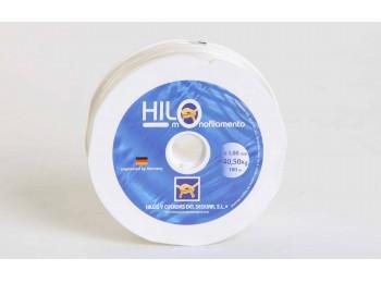 Hilo tiralineas 01mm nyl ama monofilamento hyc 100 mt