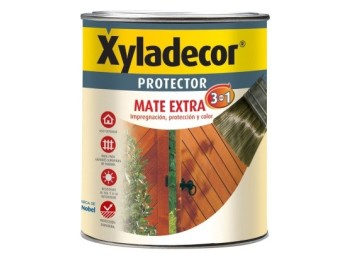 Protector prep. mad 750 ml nogal int/ext mate 3en1 xyladecor